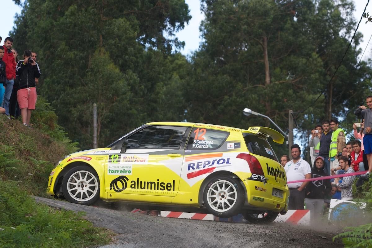 Suzuki Swift de Santi Cañizares. 45 Rallye de Ferrol. Primera etapa